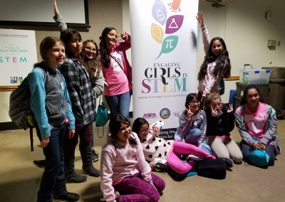 Los Angeles Country girls attending STEM Town Hall meeting