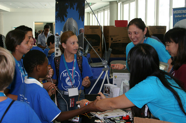 Engaging Girls in STEAM | CCSWG