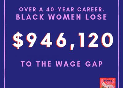 Black Women's EPD lifetime earnings