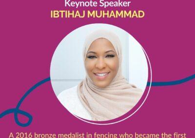 Keynote Speaker Ibtihaj Muhammad