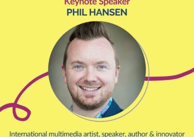 Keynote Speaker Phil Hansen