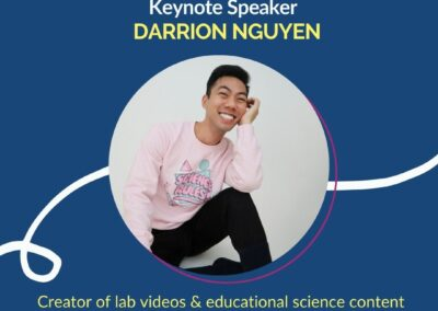 Keynote Speaker Darrion Nguyen